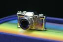 【ブックマーク】メタルブックマーク Bookmark カメラ Camera【デザイン文具】 【文房具ならワキ文具】【2sp_120611_a】
