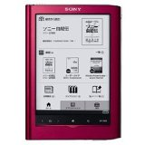 SONY(ソニー)電子書籍リーダー Reader Touch Edition/6型 レッド PRS-650-R