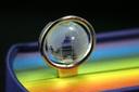 【ブックマーク】メタルブックマーク Bookmark クリスタルグローブ(透明の地球儀) CrystalGlobe【デザイン文具】 【文房具ならワキ文具】