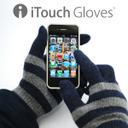 【メール便対応可能】【送料390円】iTouch Gloves/ アイタッチグローブ/iPhone/アイフォン/手袋のまま/グローブ/2011-2012/Stripe/ストライプ/Solid/ソリッド/無地/iTouch Gloves(アイタッチグローブ)【40%OFF】